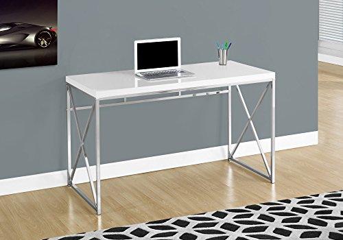 Monarch Specialties Computer Desk - Contemporary Home & Office Desk - Scratch-Resistant - 48
