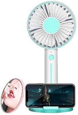 LLSTRIVE Mini Ventilador de Mano,Ventilador USB de Espejo ...