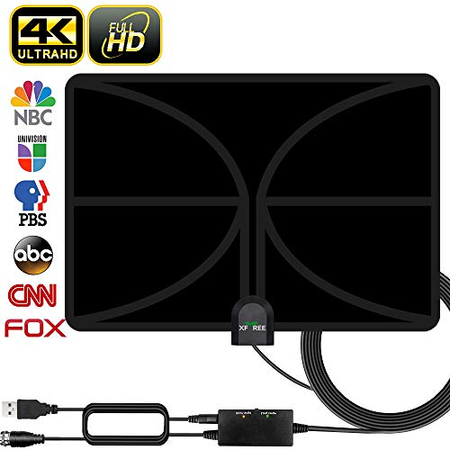 Find Discount HDTV Antenna, 2020 Newest Indoor Digital TV Antenna 130+ Miles Range with Amplifier Si...