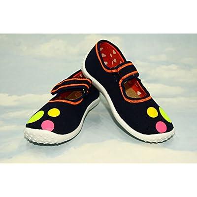 abdream , Chaussures souple pour bébé (garçon) Merry Dots 10UK - 28EU