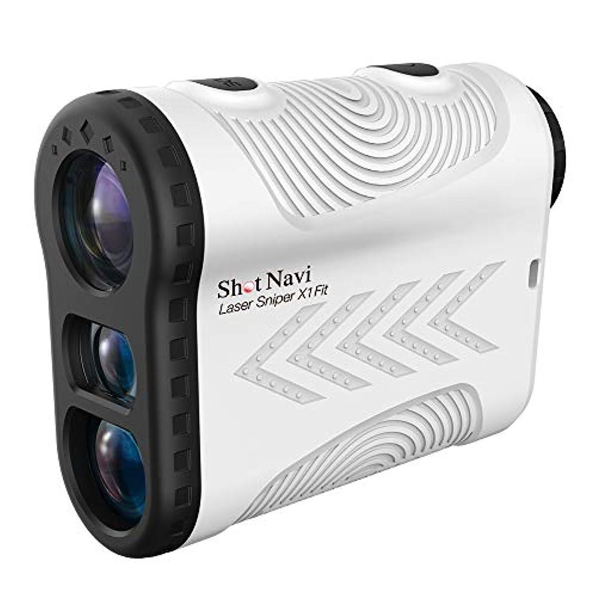 [해외] 쇼트 네비 LASER SNIPER X1 FIT(레이저 스나이퍼) [레이저 거리 계측기]/SHOT NAVI (화이트)