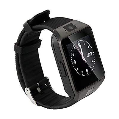 Soyan New M9 Watch Phone Bluetooth Smart Camera Watch Metal WristWatch With Camera and Headset For Android Phones(Full functions)