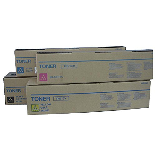 Konica Minolta TN-213 Standard Yield Toner Cartridge Set ()