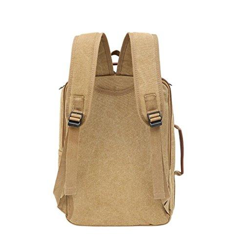 Leinwand Computer Tasche Mode Schultertasche High-Capacity Outdoor Bag Light Student Bag Green