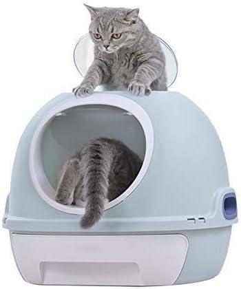 Cajas de arena para gatos Caja de Arena for Gatos, Gato Cerrado WC Eliminar el Olor Splash Prevenir Externa Adecuado for 20 Kg Gatos: Amazon.es: Hogar