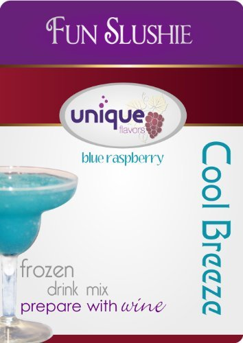 Cool Breeze Wine Slushy Mix Blue Raspberry (Raspberry Vodka Drink)