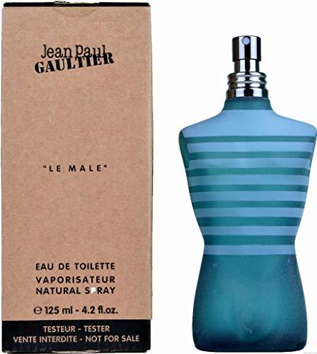 Le Male By Jean Paul Gaultier Eau De Toilette for Men 4.2 oz (Plain Box)