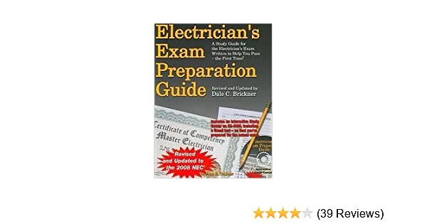 Electricians exam preparation guide 7th seventh edition text only electricians exam preparation guide 7th seventh edition text only c dale brickner amazon books fandeluxe Choice Image