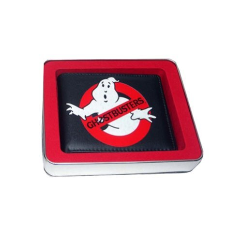 Ghostbusters GBWT006 Logo Wallet in a Gift Box Tin by Ghostbusters by Ghostbusters