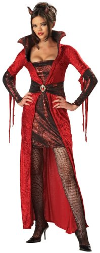 [InCharacter Costumes Women's Seductive Devil Adult Costume, Red, X-Large] (Hot Halloween Costumes Devil)