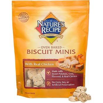 Big Heart Pet Biscuit Nature's Recipe Chicken, Mini/19 oz