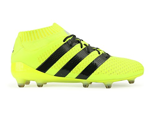 adidas Men's Ace 16.1 Primeknit FG/AG Solar Yellow/Core Black/Silver Metalic Shoes sale supply sale high quality factory outlet for sale hk36Gw