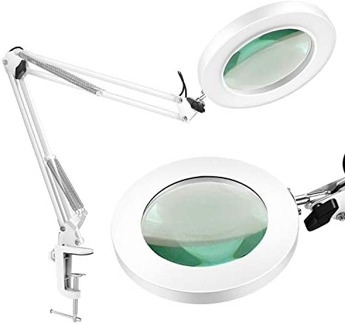 LANCOSC Magnifying Glass Desk Clamp product image