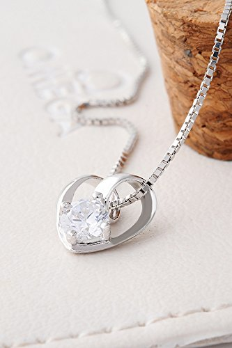 Thai Love Your Unique Heart Love Heart Necklace Pendant Women Girls Chain Clavicle Short s925 Silver Accessories Women Gift Gift by PAGIPEN