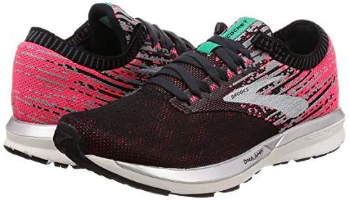 Scarpe Ricochet Running Brooks Da Multicolore black Donna pink 678 aqua qwC66d5