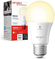Sengled Smart Bulb, Alexa Light Bulb Bluetooth Mesh, Smart Light Bulbs That Work with Alexa Only, A19 Dimmable