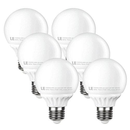 Le 5W G25 E26 LED