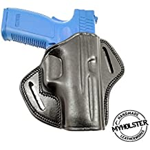 Sig Sauer SP2022 Right Hand Open Top Leather Belt Holster
