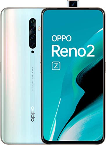 "Oppo Reno 2z Blanco Cielo Móvil 4g Dual Sim 6.5"" Amoled Fhd+/8core/128gb/8gb Ram/48+8+2+2mp/16mp (Refurbished)"