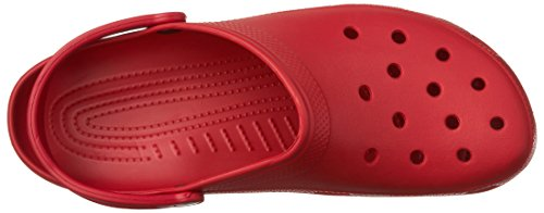 2 Adulte pepper Crocs Rouge Sabots Mixte Classic wnPTvY