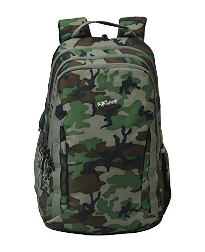 F Gear Raider Marpat Woodland Digital Camo 30 Liter Backpack with Rain Cover (2811)