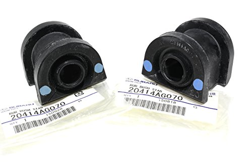 (05-14 Subaru Front Stabilizer Bushing SET Impreza Forester OEM NEW)