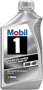 6-Pack Mobil 1 96989 0W-40 Synthetic 1-Quart Motor Oil