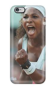 5112924K57686990 AnnaSanders Serena Williams Photos Durable Iphone 6 Plus Tpu Flexible Soft Case