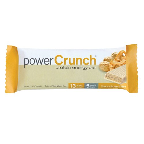 Power Crunch Bar, Peanut Butter Cream, 1.4 (Bio Protein Bar Peanut Butter)