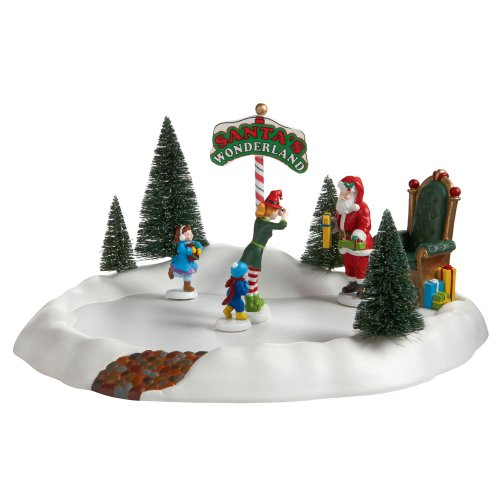 Department 56 Accessories for Villages Visiting Santa Accessory Figurine by Department 56