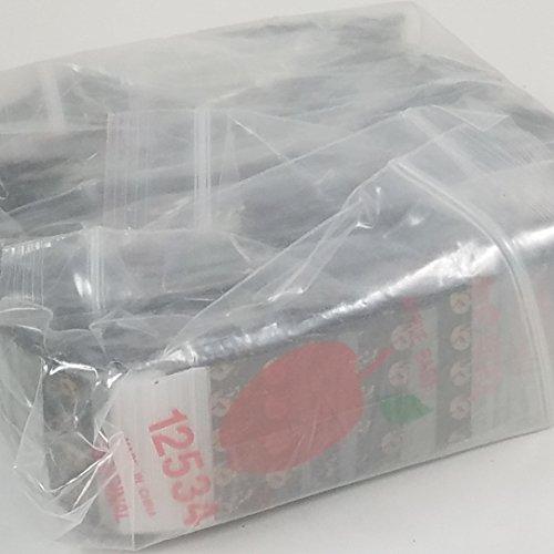 Gold Skull 10pks 12534 Small Mini Ziplock 1000 Colors Bags You Choose Color 1.25 X .75 Baggies Apple Brand Bulk