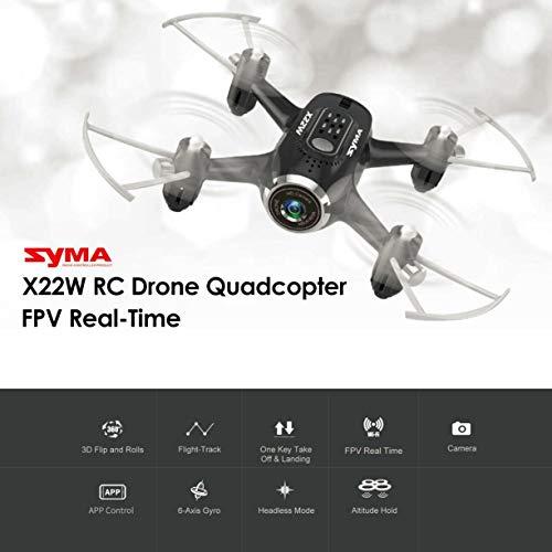 Detectoy Syma X22W 2.4G Selfie RC Drone Quadcopter con WiFi FPV ...