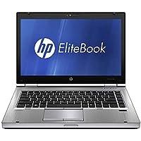 "HP Elitebook 8470p Laptop Intel Core i5 3320m 2.67Ghz 8GB Ram 500GB HDD DVD 14"" Display Webcam WiFi Bluetooth Windows 10 Professional 64Bit (Renewed)"