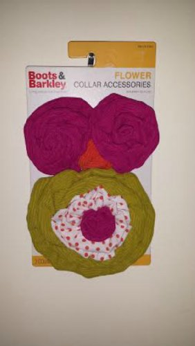 Collar Flower Accessories by Boots & Barkley