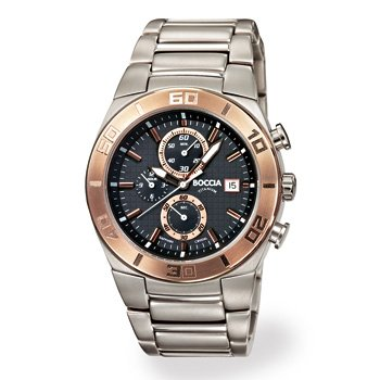Boccia Sport 3779-05 Gents Watch with Metal Strap