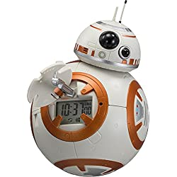 Rhythm Watch STAR WARS BB-8 Voice / Action Figure Alarm Clock 8RDA74MC03