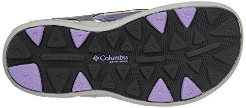 ColumbiaYouth Techsun Vent - sandalias de senderismo chica Morado (Tradewinds Grey/white Violet 032)