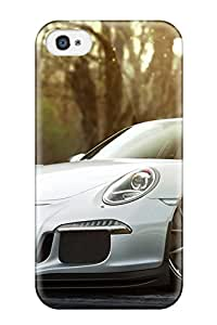 Premium Case With Scratch-resistant/ Porsche 911 Gt3 Case Cover For Iphone 4/4s