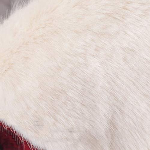 Oreja Para De color hat Cuadros Mujer Protector 60cm Gorra Sombrero Cálida Tamaño A A Home Gruesa Beautiful Invierno Y Esquí Tela wXAxq8Tt