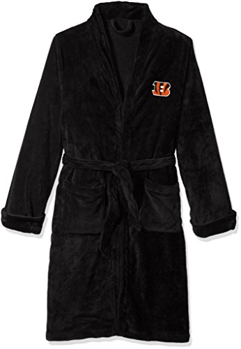 - The Northwest Company Officially Licensed NFL Cincinnati Bengals Men's Silk Touch Lounge Robe, Large/X-Large