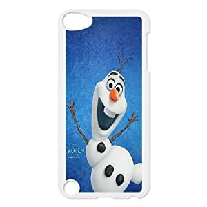 2014 hottest animated movie frozen with cute snowman olaf,phone Case Cover FOR Ipod Touch 5 FAN300865