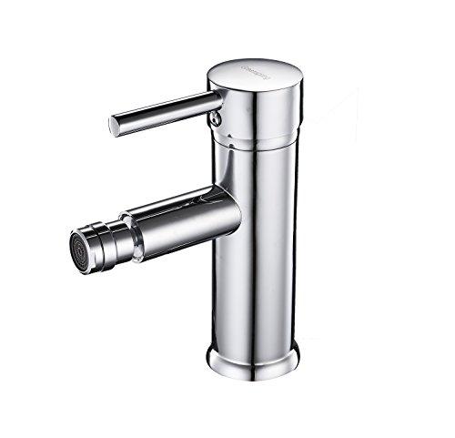 Greenspring Single Hole Bidet Faucet Solid Brass Ceramic Valve Bidet Toilet faucet,Chrome Finish