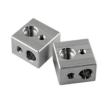 gulfcoast robótica] 2 pcs Hotend heater bloque MK10 extrusor para ...