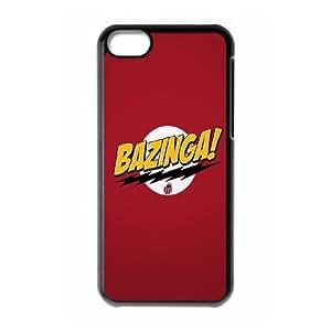 The Big Bang Theory Bazinga iPhone 5c Cell Phone Case Black&Phone Accessory STC_187665