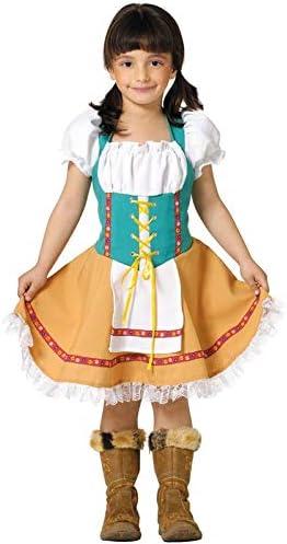 DISBACANAL Disfraz Tirolesa Infantil - -, 6 años: Amazon.es ...