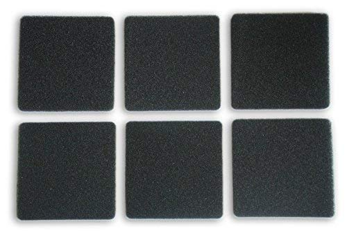 LTWHOME Generic Compatible Filtration Foam Fit Rena Filstar xP Filter Media 724A 30PPI(Pack of 6)