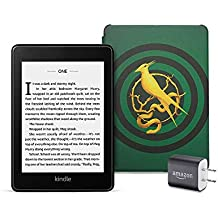Kindle Paperwhite Bundle including Kindle Paperwhite - Wifi, Amazon exclusive The Ballad of Songbirds and Snakes Cover, and Power Adapter