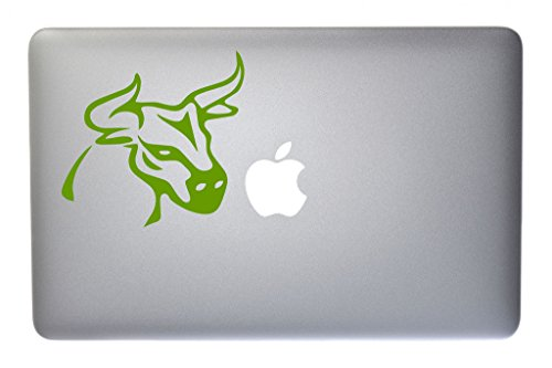 brahma-bull-vinyl-decal-for-macbook-laptop-or-other-device-5-inch-lime