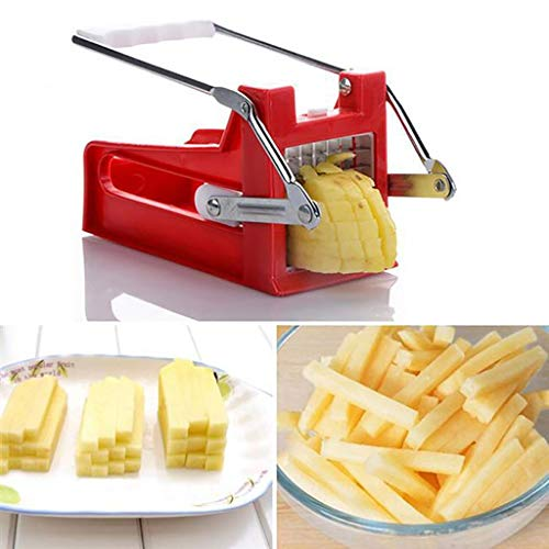 MSOO Portable plastic handle potato, carrot and cucumber cutter