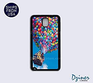 Galaxy Note 2 Case - Balloon Up House